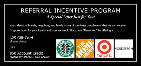 referral incentive program